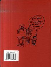 L'agenda du petit Nicolas - 4ème de couverture - Format classique