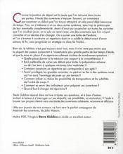 Comment construire son répertoire d'ouvertures - 4ème de couverture - Format classique