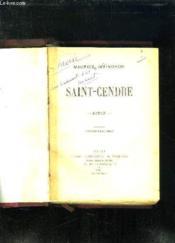 Saint Cendre. - Couverture - Format classique