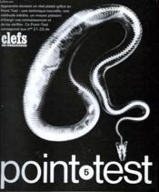 Clefs Des Connaissances - Point Test - N°5 - Couverture - Format classique