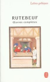 Vente livre :  Oeuvres Completes  - Rutebeuf