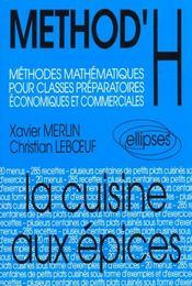 Method'H ; méthodes mathématiques pour classes préparatoires économiques et commerciales - Intérieur - Format classique