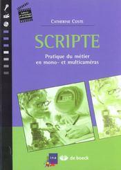 Scripte - Intérieur - Format classique
