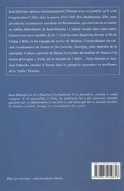 Allier Mysteres - 4ème de couverture - Format classique