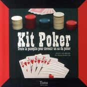 Kit poker ; la panoplie pour devenir un as du poker - Intérieur - Format classique