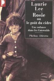 Rosie ou le goût du cidre - Couverture - Format classique