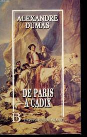 De Paris à Cadix - Couverture - Format classique