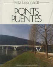 Ponts Puentes - Couverture - Format classique