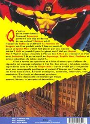 Les super heros - 4ème de couverture - Format classique