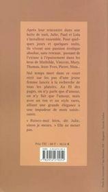 Quelques Jours Dans La Vie De Julie - 4ème de couverture - Format classique