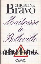 Maitresse A Belleville - Couverture - Format classique