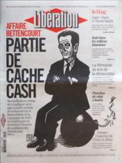 Liberation N°9607 du 31/03/2012 - Couverture - Format classique