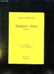 Dankert Anna Une Vie. - Couverture - Format classique