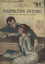 Napoleon Intime Raconte Par Son Valet De Chambre - Couverture - Format classique