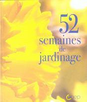 52 semaines de jardinage - Intérieur - Format classique