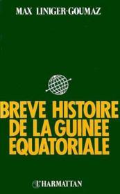 Brève histoire de la Guinée équatoriale - Couverture - Format classique