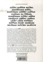25 petites pièces d'auteurs - 4ème de couverture - Format classique