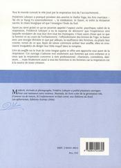 L'art du soufflé - 4ème de couverture - Format classique