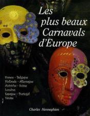 Les plus beaux carnavals d'Europe - Couverture - Format classique