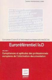 Euroreferentiel i d guides professionnels adbs en 2 volumes (2e édition) - Couverture - Format classique