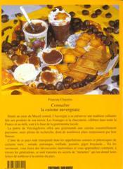 Connaitre la cuisine auvergnate - 4ème de couverture - Format classique