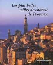 Les plus belles villes de charme de Provence - Intérieur - Format classique