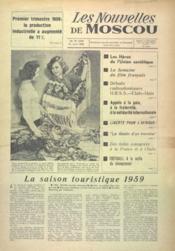 Nouvelles De Moscou (Les) N°30 du 15/04/1959 - Couverture - Format classique