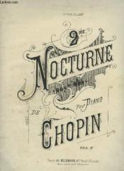 2° Nocturne Pour Piano. - Couverture - Format classique