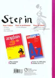 Anglais ; 3ème ; manuel de l'élève (édition 1997) - 4ème de couverture - Format classique