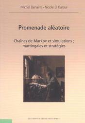 Promenade aleatoire chaines de markov et simulations martingales et strategies - 4ème de couverture - Format classique