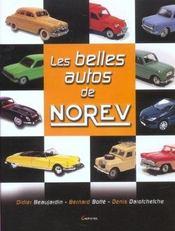 Les belles autos de Norev - Intérieur - Format classique