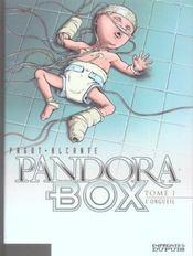 Pandora box t.1 ; l'orgueil - Intérieur - Format classique