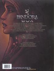 Pandora box t.1 ; l'orgueil - 4ème de couverture - Format classique