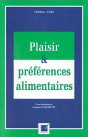 Plaisir et préférences alimentaires - Couverture - Format classique