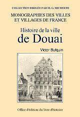 Histoire de la ville de douai - Couverture - Format classique