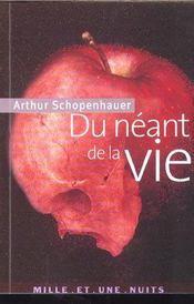 Du Neant De La Vie - Intérieur - Format classique