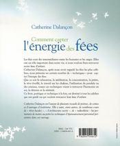 Comment Capter L'Energie Des Fees - 4ème de couverture - Format classique