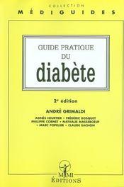 Guide Pratique Du Diabete ; 2e Edition - Intérieur - Format classique