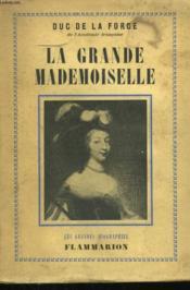 La Grande Mademoiselle. - Couverture - Format classique