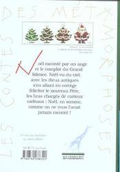 Comment Sont Nes Les Peres Noel - 4ème de couverture - Format classique