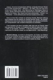 Le dandie-dinmont terrier - 4ème de couverture - Format classique