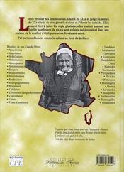 Le meilleur des recettes de terroirs de nos grands-mères - 4ème de couverture - Format classique