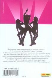 Galism, soeurs de choc t.1 - 4ème de couverture - Format classique