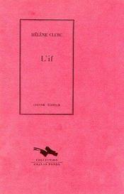 L'if - Couverture - Format classique