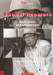 Shohei imamura ; entretiens et temoignages - Intérieur - Format classique
