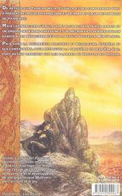 Souffle Du Dragon-Le Dit De Cythele 4 - 4ème de couverture - Format classique