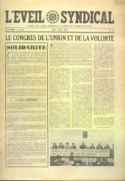 Eveil Syndical (L') N°125 du 01/05/1959 - Couverture - Format classique
