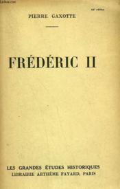 Frederic Ii. - Couverture - Format classique
