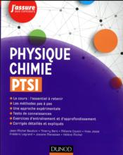 Physique-chimie ; PTSI  - Jean-Michel Bauduin