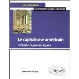 Le Capitalisme Americain Evolution Et Grandes Figures - Couverture - Format classique